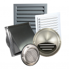 Metal air distribution components